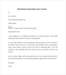 Sample Marketing Cover Letter For Resume Best Of Cover Letter For Marketing Internship 24 Kuv R Leddar 24
