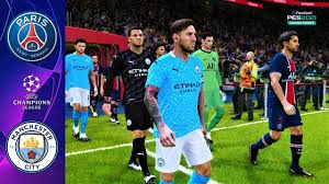 MESSI going to Man City? | PSG - MANCHESTER CITY | UEFA Champions League |  PES 2021 Gameplay PC - YouTube
