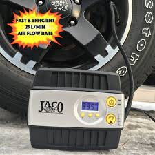 tire inflator can. this compressor comes with a strong woven inflation cord, led operation lights, and an extra long power cord that can be used console connections. tire inflator