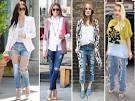 Фото модные рваные джинсы 49