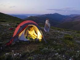 outdoor activities. Camping, Falls To Hotham Alpine Crossing, High Country, Victoria, Australia Outdoor Activities