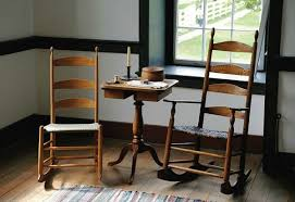 what is shaker style furniture. Candle Stand Between Two Shaker Rocking Chairs What Is Style Furniture U