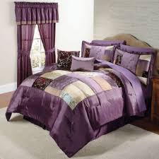 Purple And Brown Bedroom Decor Crushed Sheer Valances In Brown For Windows Covering Ideas
