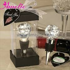 a0722 vineyard collection crystal ball wine stopper whole party supplies