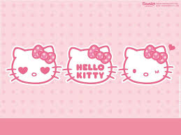 Wallpaper Hello Kitty Pink - Wallpapers
