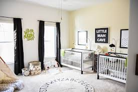 Black and White Nursery Tags - Project Nursery