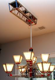 track lighting chandelier. Erector Set Chandelier On Moving Track By Rick Singleton Lighting. This Looks Very Familiar. Lighting C
