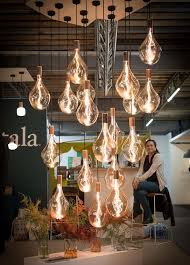 eco lighting brand tala was also based on ground floor of cubitt house presenting the voronoi iii the world s largest sculptural bulb
