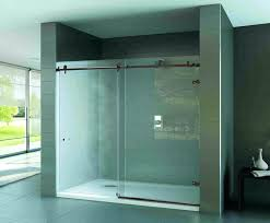 bathtub shower doors with mirror tub trackless menards metro sliding and glass bathrooms wonderful beautiful sho