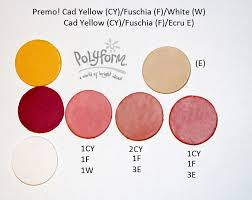 Premo Color Mixing Chart New Color Tuesday The Venetian Palette Part 3 Color