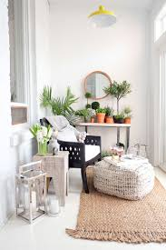 small sunroom. Before And After: With A Little Help From Pinterest HomeGoods This Small Sunroom Gets Summer Makeover #theeverygirl R