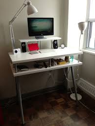 10 Ikea Standing Desk Hacks With Ergonomic Appeal. Utby Underframe. Malm  Chest Gets A Pull Out Laptop Table