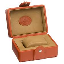 underwood collectors leather watch cases are covered with the finest vegetable tanned calf leather
