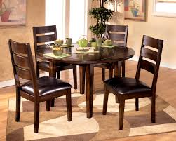 30 inch round dining table brilliant country style walnut inbuilt lazy susan of also within 26