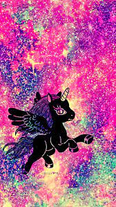 Rainbow Unicorn Galaxy Wallpaper - Cute ...