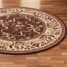 image of best round kitchen rugs 6ft