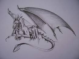 Tetování Drak Kresba