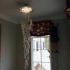 raindrop chandelier saint modern crystal raindrop chandelier