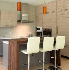 view in gallery contemporary wooden kitchen bar design