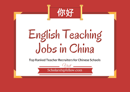 Esl Jobs In China