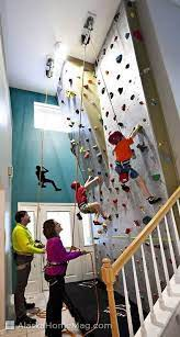 building a climbing wall can be a