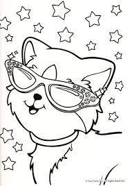 Lisa Frank Cat Coloring Pages Located