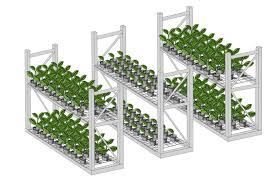 spacesaver grow systems for mobile tables and optimal indoor growing