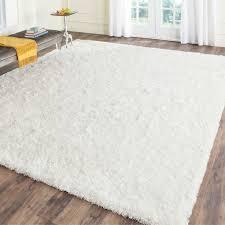 white shag rug. Brilliant 8 X 10 Shag Rug Roselawnlutheran Within Plush Area Rugs 8X10 White