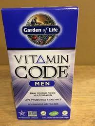 garden of life vitamin code men. GARDEN OF LIFE VITAMIN CODE MEN 120 VEGETARIAN CAPSULES WHOLE FOOD MULTIVITAMIN Garden Of Life Vitamin Code Men