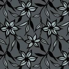 Dutch Wallcoverings Behang Bloemen Zwart En Zilver 7339 7 Blokker