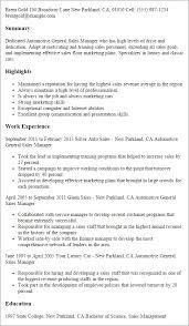 Automotive Service Manager Resume Auto Service Manager Resume Flightprosim Info