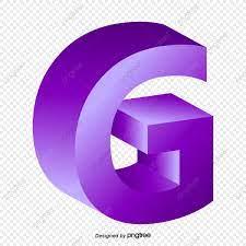การไล่ระดับสีม่วงตัวพิมพ์ใหญ่สเตอริโอตัวอักษรภาษาอังกฤษกรัม, สีม่วง,  การไล่ระดับสี, ใหญ่โตภาพ PNG และ เวกเตอร์ สำหรับการดาวน์โหลดฟรี