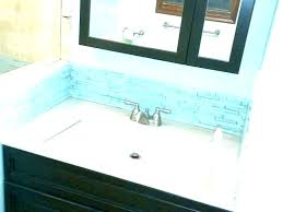 cost to replace bathroom vanity and sink replace bathroom vanity install a bath vanity top removing