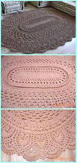 diy area rug crochet may the miracle oval rug free pattern crochet area rug ideas free