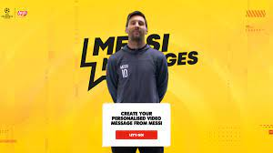 Lay's Lets Fans Customize a Deepfaked Message From Messi