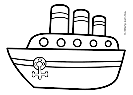 Small Picture Ship transportation coloring pages steamship for kids printable