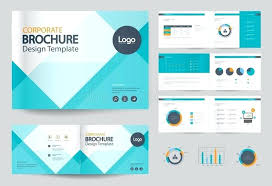 Free Company Report Business Cover Design Template Brochure Annual Report Flyer