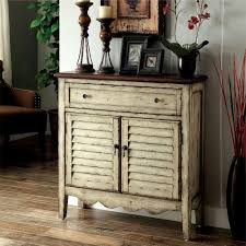 venetian worldwide hazen louver antique white and brown storage cabinet antique storage cabinet with doors e50 cabinet