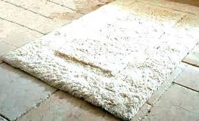 bath rug non slip backing microfiber mat x in skid 5 brown