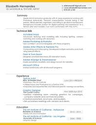 Naming A Resume Interesting Elizabeth R Hernandez Artist And Designer Resume