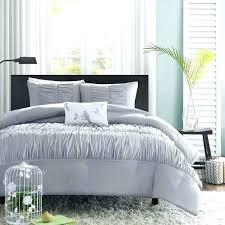 ruched comforter set grey grey ruched bedding mi zone grey 4 piece comforter set comforter sets