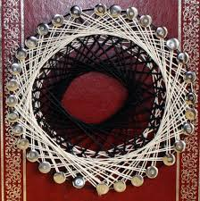 How To Do String Art Rhymes With Magic Future Library Programming With String Art