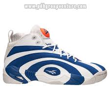 reebok basketball shoes blue. to buy men\u0027s reebok pump shaqnosis retro basketball shoes white/royal get cheap blue