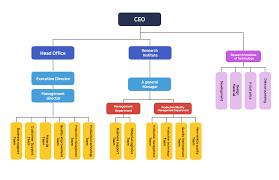 Company Organizational Chart Ceo Moodeung