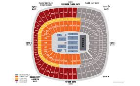 Arrowhead Stadium Seating Chart With Rows