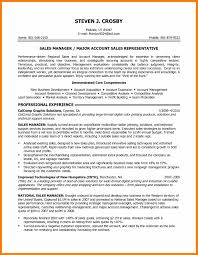 6 Sales Objective Resume Prefix Chart