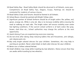 road safety highway safety tips for parents and teachers how to pr  30 38 road safety