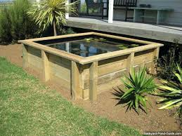 diy above ground pond above ground turtle ponds for backyards you can get some great ideas