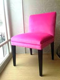 pink upholstered