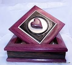 image unavailable image not available for color handmade jewelry box purple heart